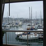  View of the marina, from inside the room
