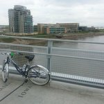 Biking across the Missouri