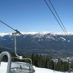View from Chair Lift .