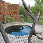  Plunge pool for room 8