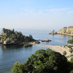  View of Isola Bella from our balcony