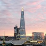 The Shard from terrace