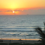 Yvette's Pic of Sunrise from My Window - Suncoast Durban