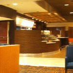  Panoramic view of lobby and bistro