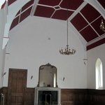 Former chapel is one of the rooms you can explore