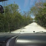  Driving into Playa Palancar