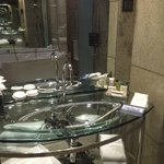 Luxury vanity area