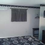  Clean, new room, pleasant decor, with micro, fridge and small TV