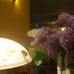 Pleasing all your senses: antiques & fresh cut flowers