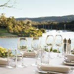 Ala carte waterfront dining from Terrace on Pittwater restaurant (upstairs at Newport Arms)