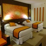  bedroom in blazing orange