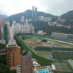  happy Valley race course from hotel bar top floor