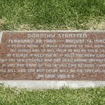  Dorothy Stratten, murdered by her estranged husband
