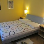 double bed - very nice sleep