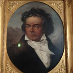  An official portrait of Ludwig Von Beethoven