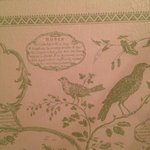  loved the wall paper in our bathroom