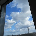 View from our bedroom - lovely skies!