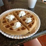  breakfast waffle:) best waffle I have had