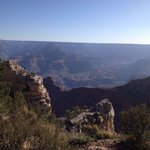 View from Yaki Point in the morning