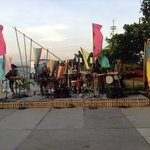 The show..Cultural Night. Played everyday at Camayan Beach Resort