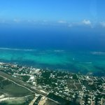 Ambergris Caye / San Pedro from the air