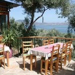 Restaurant with view on Lake Bafa