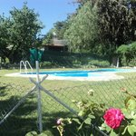 Pool and Solarium Hostel la Cumbre