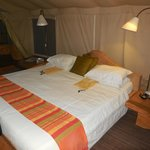 Comfortable Tent Rooms!