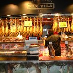  One of the market stalls Barcelona.