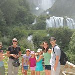 The Waterfall near Castrum Resort (Cascata delle Marmore)