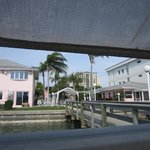  View of East Shore Resort from the dock