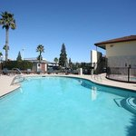  Enjoy our heated outdoor pool all year long.
