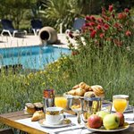  Breakfast Near the Pool