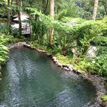  One of the natural spring pool. Water super cold and U will love it
