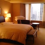  My comfortable room during the stay at Lotte Hotel Seoul