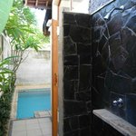 Private Pool & Optional outside shower