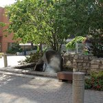  Enjoy our courtyard with garden and fountain