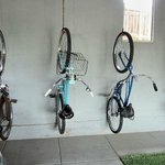  Bikes in carport