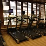  cardio room in the gym/spa
