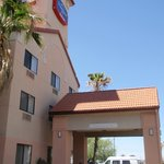  entrance/front of hotel