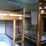  Dorm room of 6 beds
