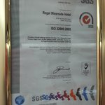  38 ISO-22000 2005 (Food Safety) Cert