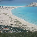 Simos Beach and Simos Camping