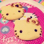  Hello Kitty cookies deco session, can eat the cookie