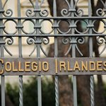  the front of the Irish college