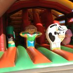 bouncy castle for under 4s