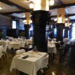 The formal dining at the Savoy Grille