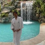 this is in spa botanica, took a plunge to their wonderful pool before my treatment