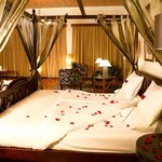 Honeymoon suite - romantic turndown