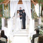 Wedding at our Gazebo in the Atrium